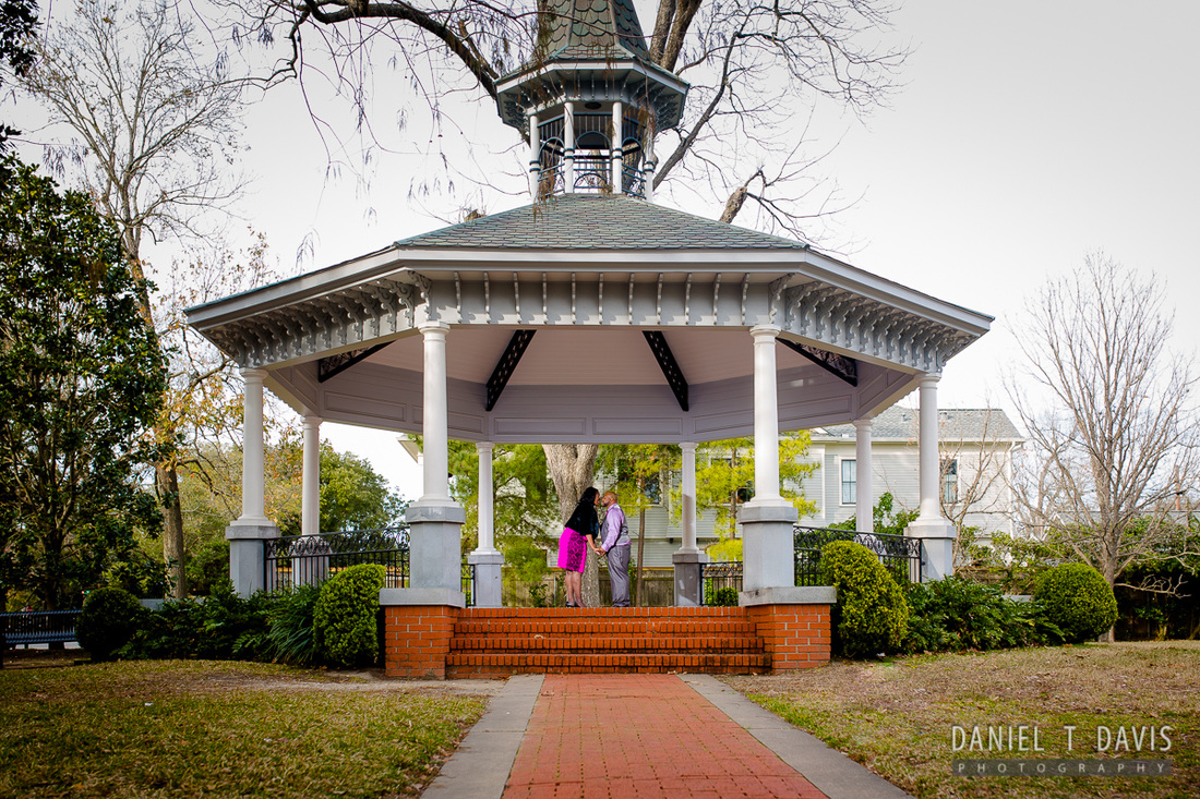 Marmion Park Houston Engagement Photos