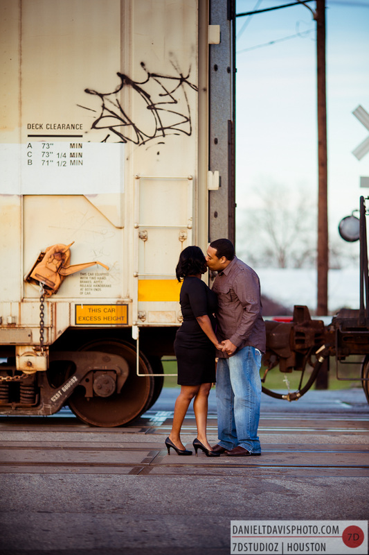 Warehouse District Engagement Photos