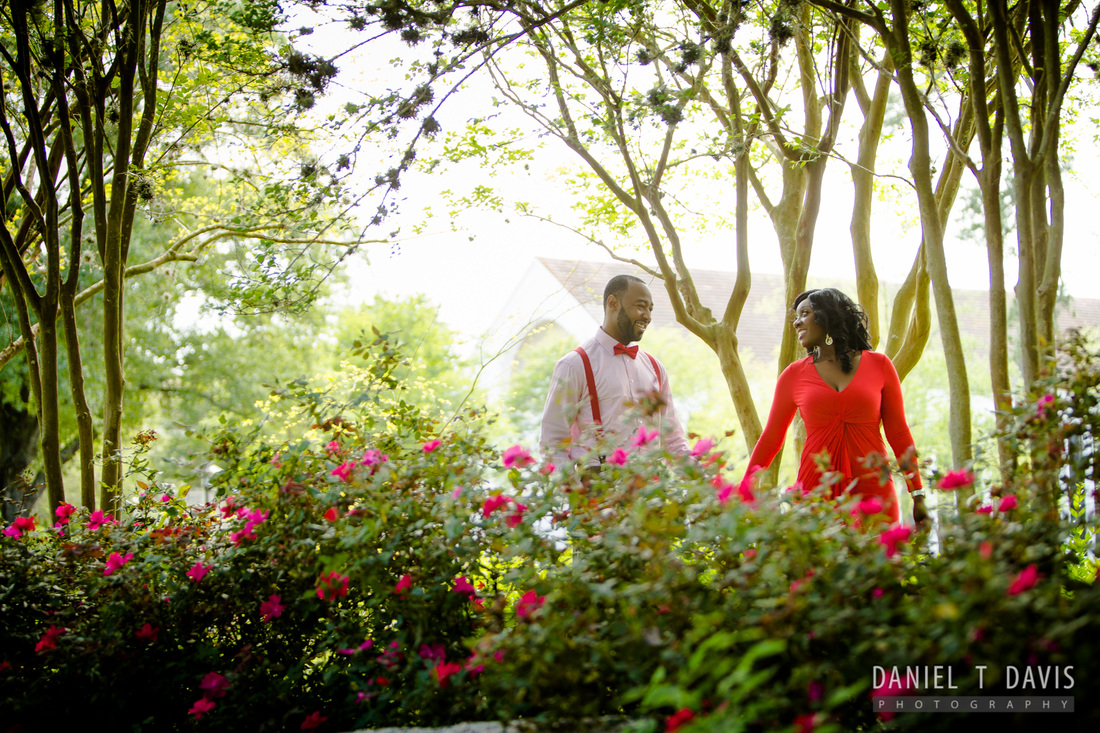 university of houston engagement photos