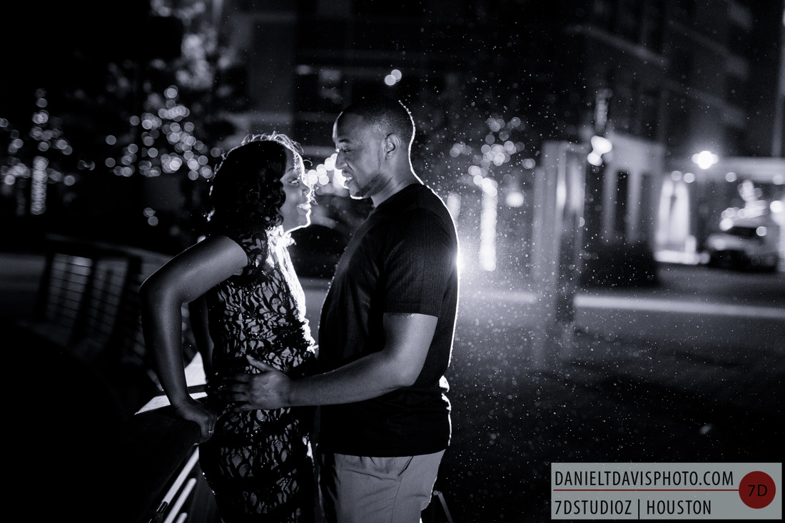 the woodlands engagement photos