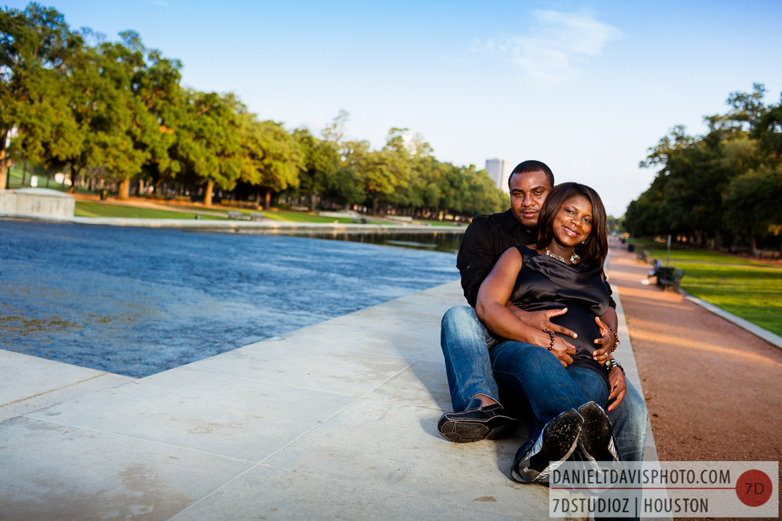 hermann park maternity photos