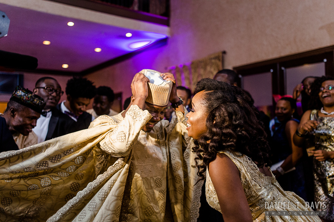 A Golden Nigerian Houston Wedding Reception Daniel T Davis