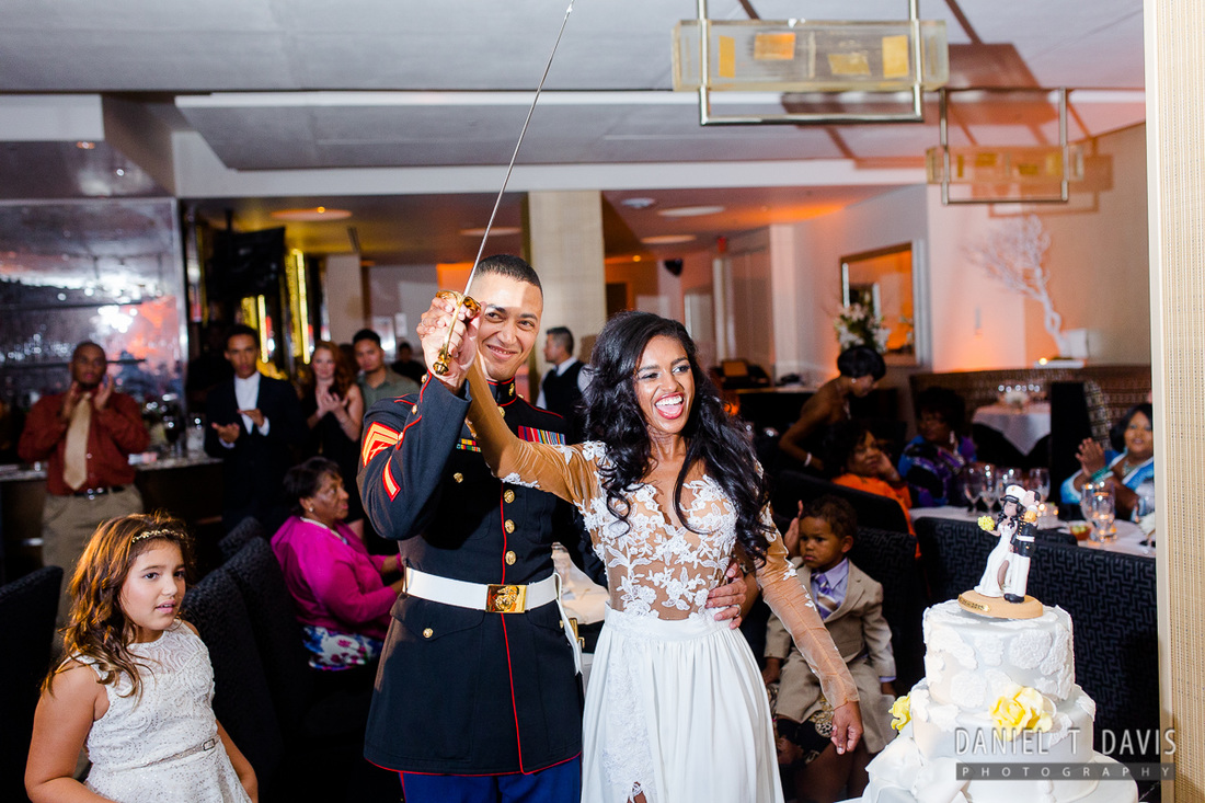 Military Wedding in Houston