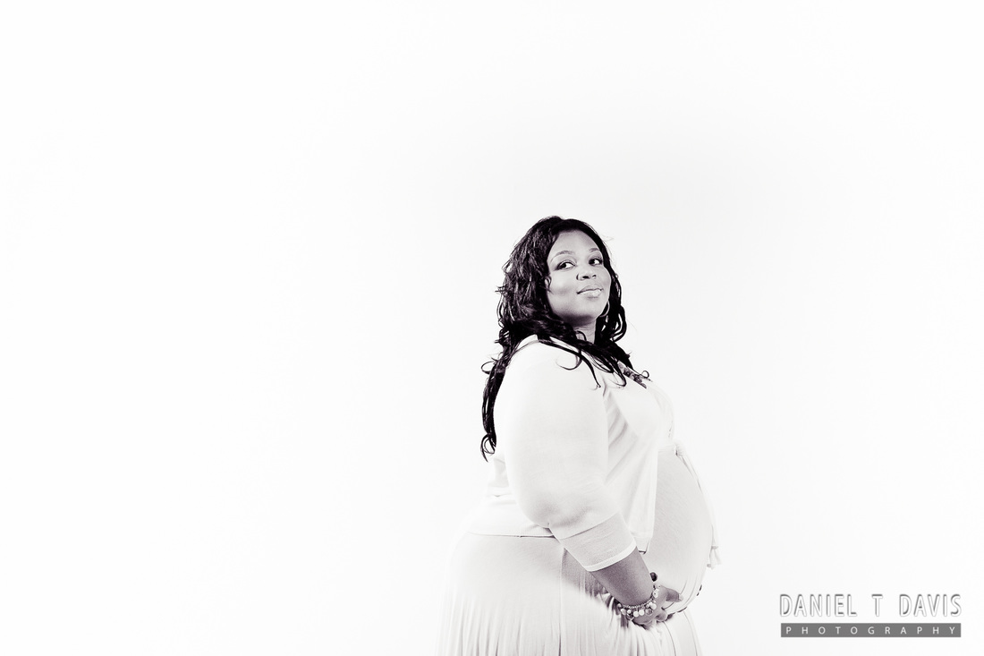 African American Maternity Photographer in Houston