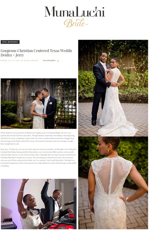 Munaluchi Bridal Texas Wedding Photos