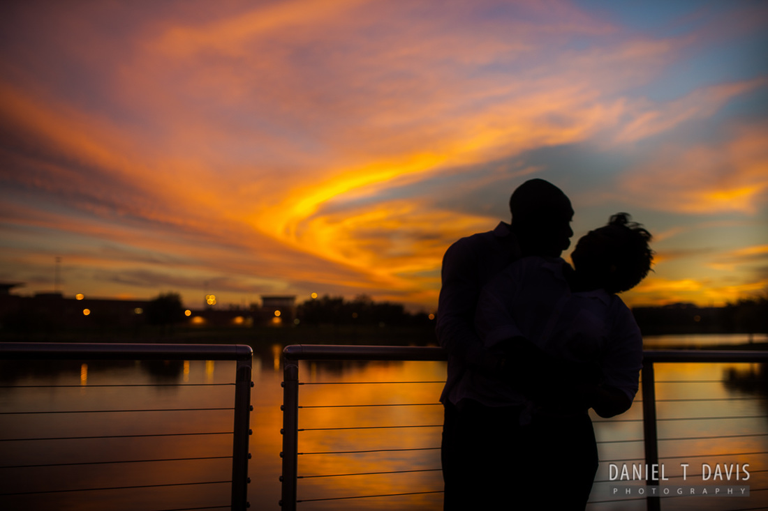 Lake Pointe Sugarland Texas Engagement Photos