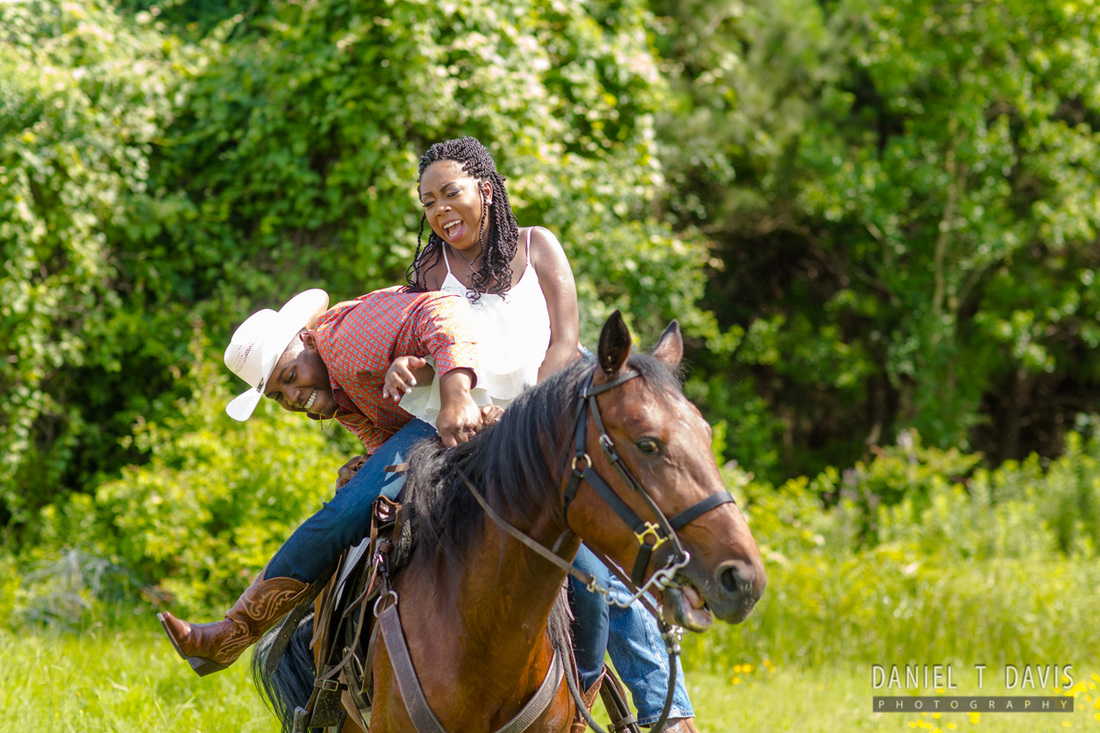 Houston Horse Engagement Photos