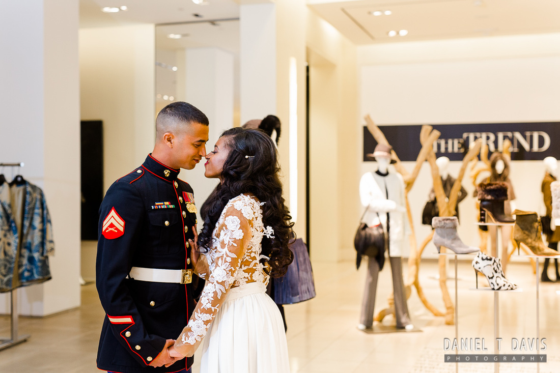 Saks 5th Avenue Wedding in Houston