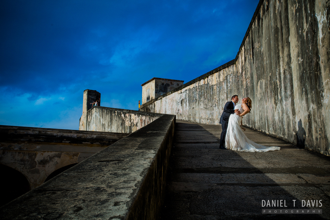 Castillo San Cristóbal Wedding in Old San Juan