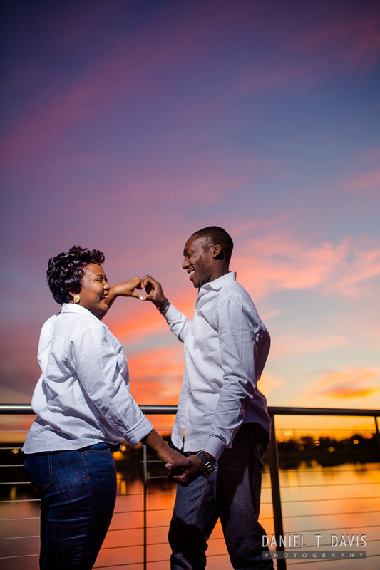 Nigerian Engagement Photos in Houston