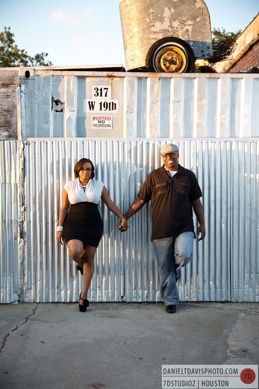 Houston Heights Engagement Photos