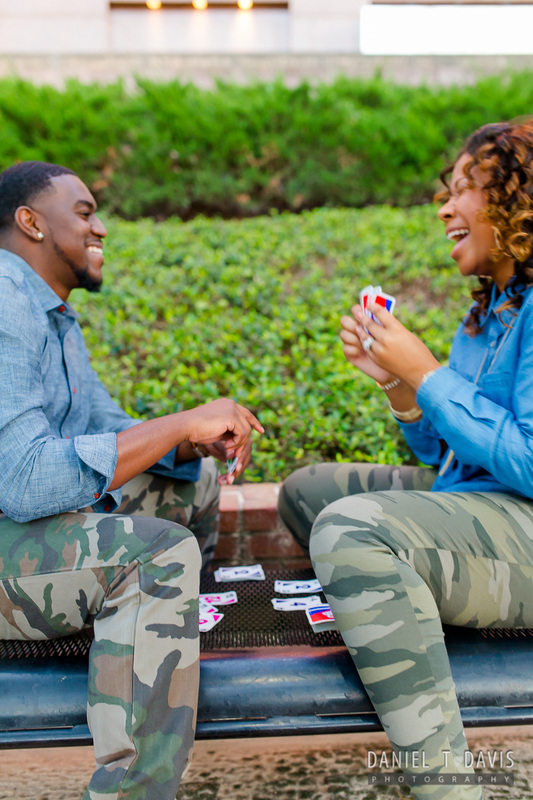 Card Game Engagement Photos