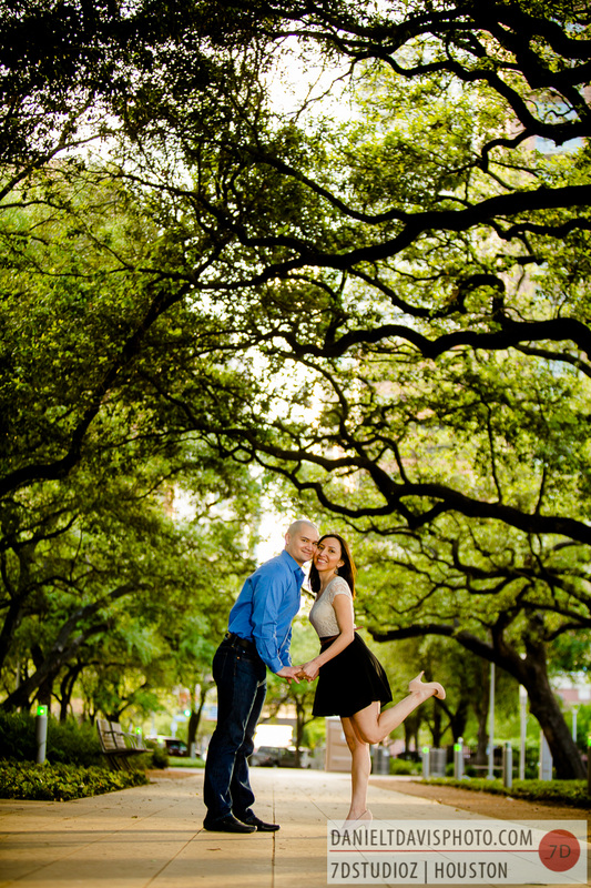 discovery green engagement photos