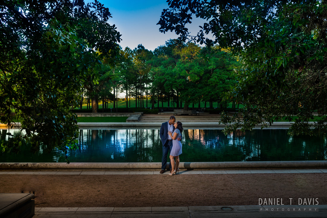 Hermann Park Engagement Photo Locations in Houston