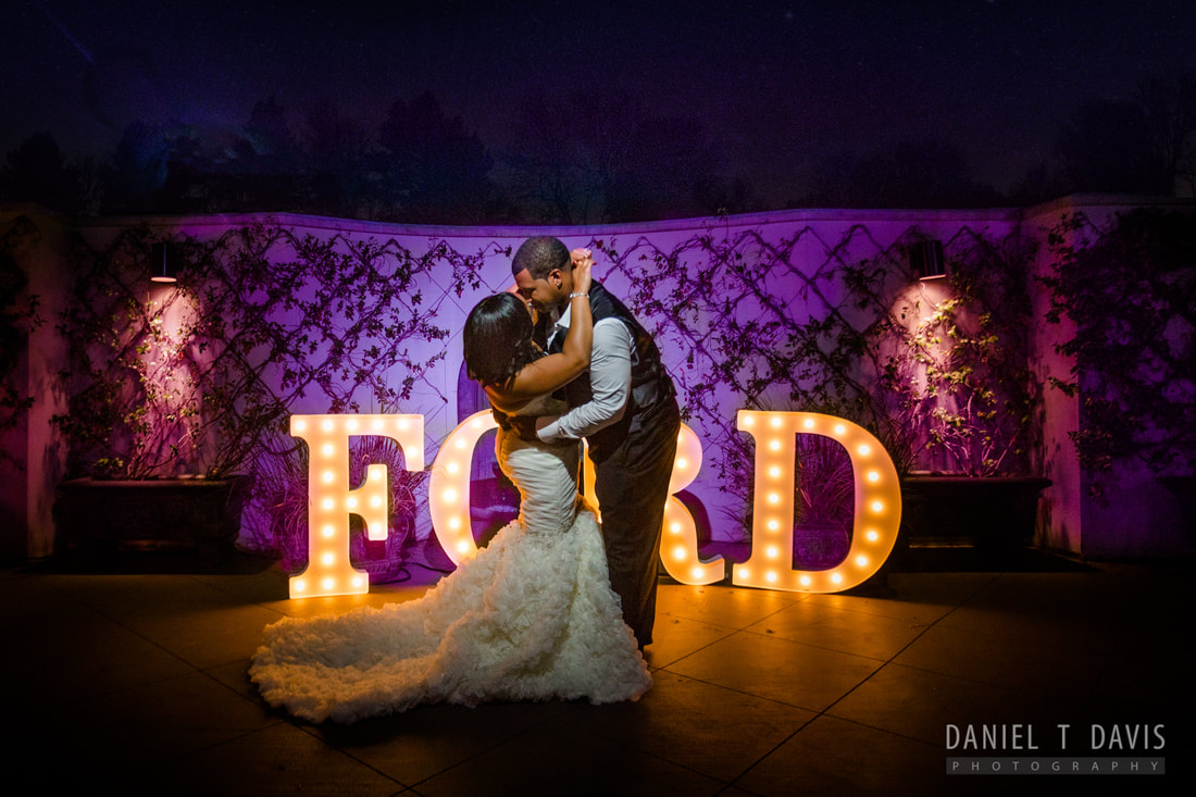 Decorative Wedding Letters in Houston