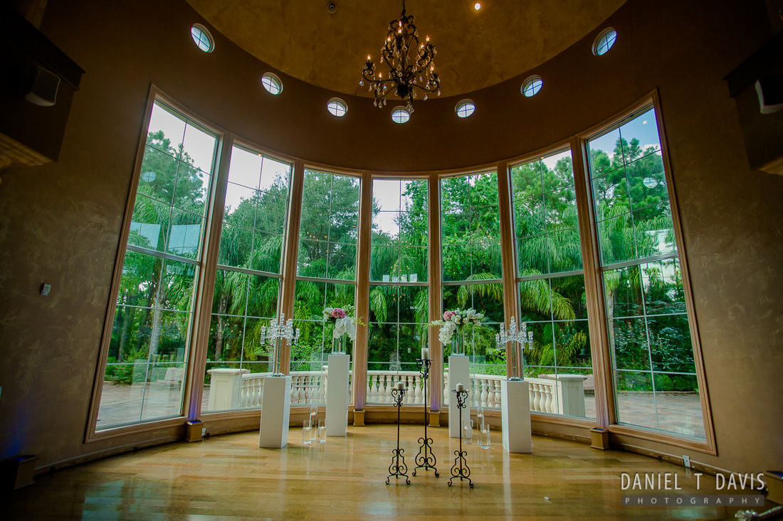 Chateau Polonez Houston Wedding Ceremony