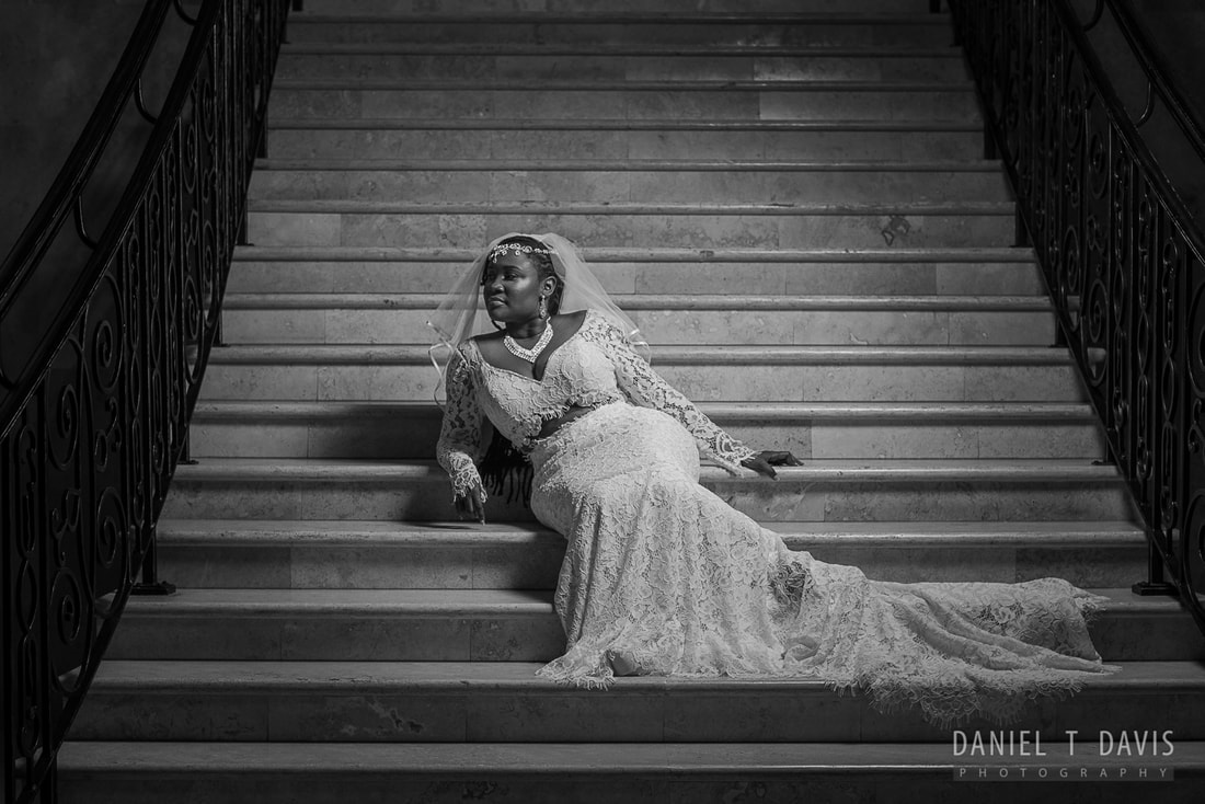 PictureDowntown Houston Bridal Photo
