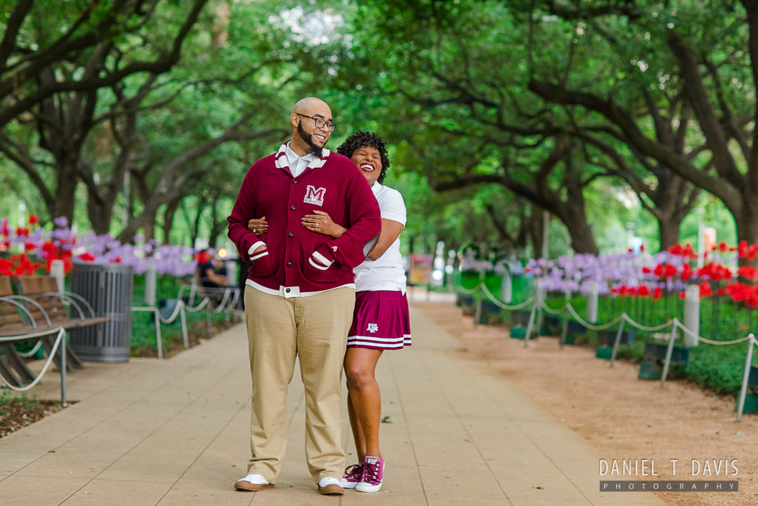 Engagement Photoshoot Locations in Houston