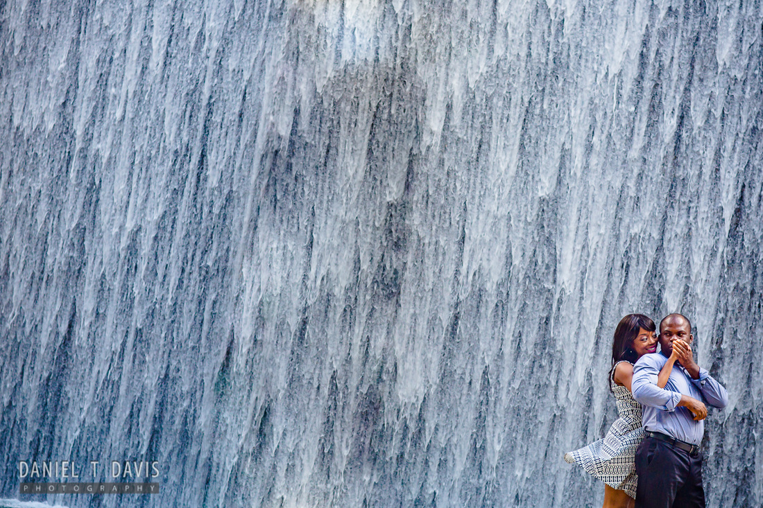 Houston Waterwall Engagement Photo Locations
