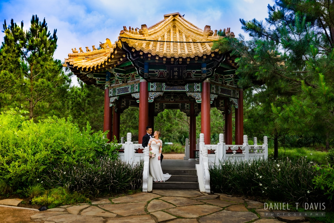 Japanese Garden Houston Wedding