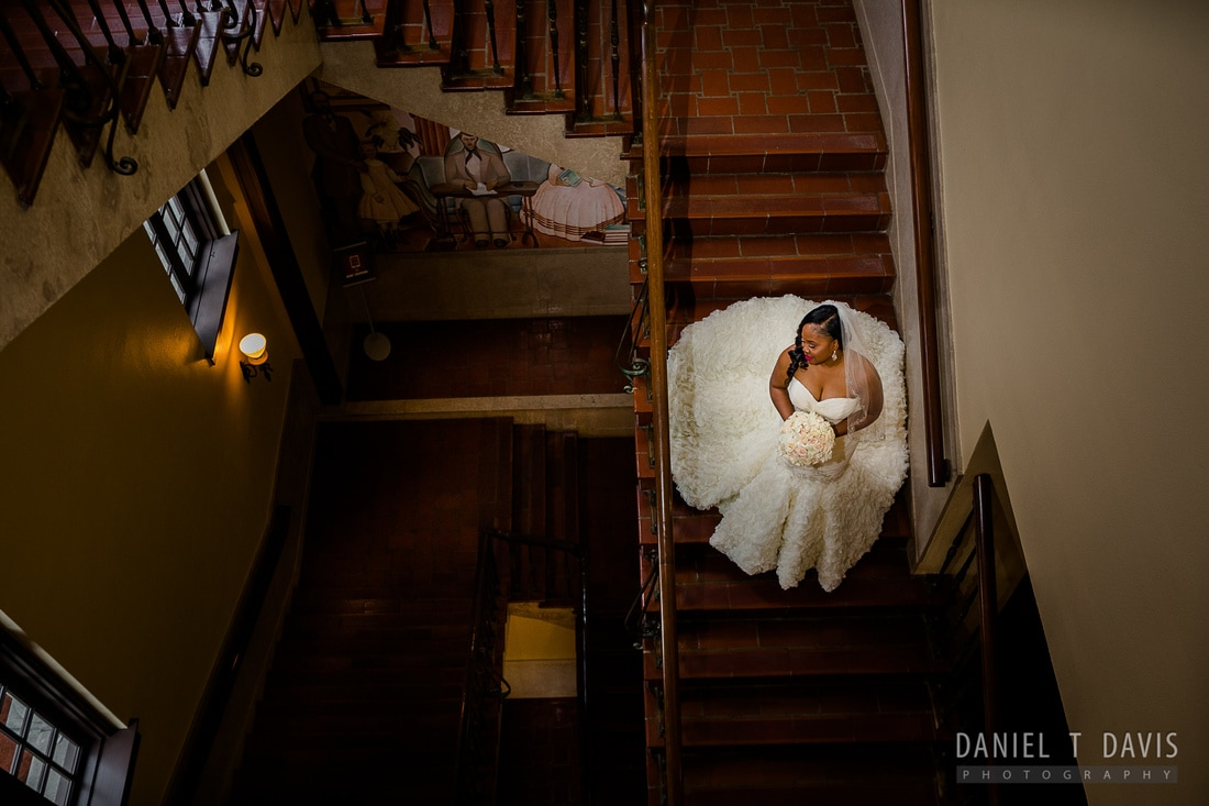 Julia Ideson Library Wedding