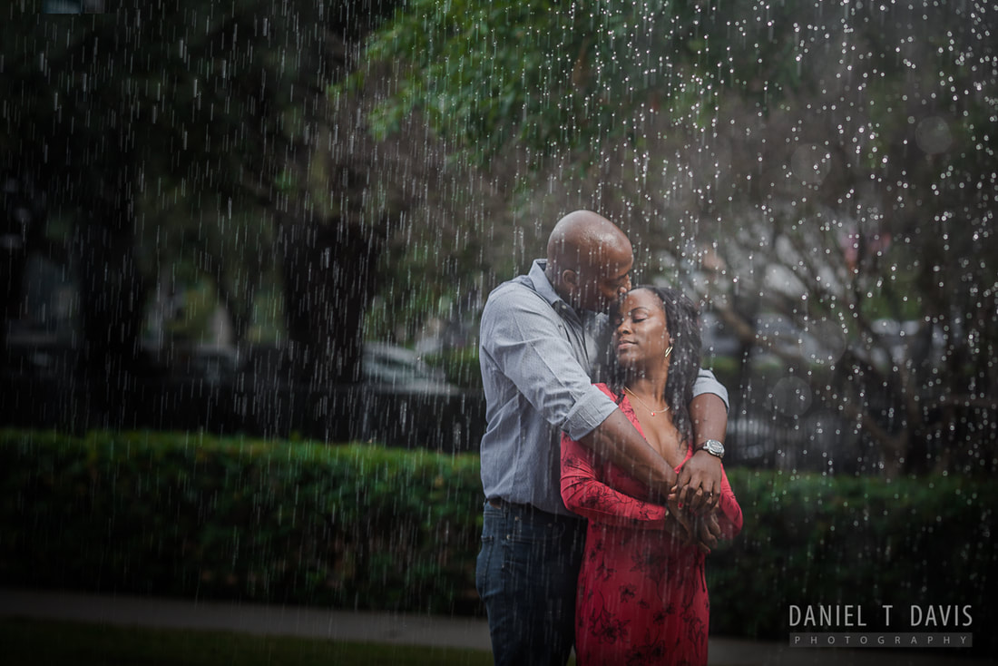 Rain Inspired Wedding Photos