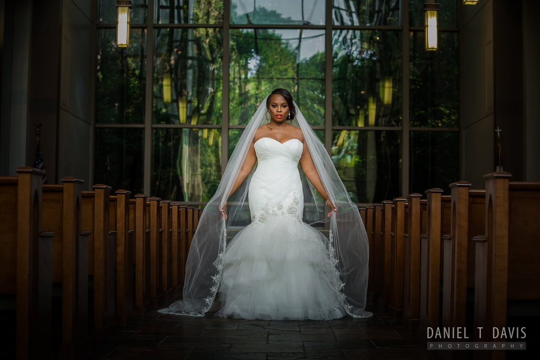 The Woodlands Church Wedding