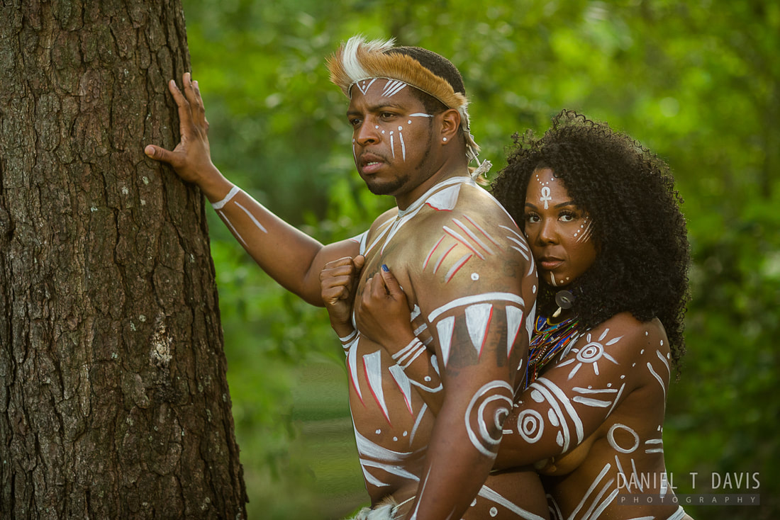 wakanda engagement photos